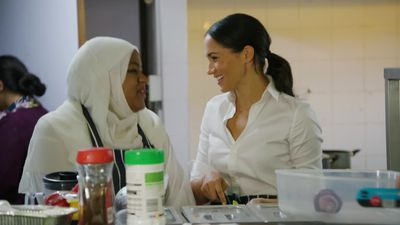 Meghan's first solo project as a royal is community cookbook
