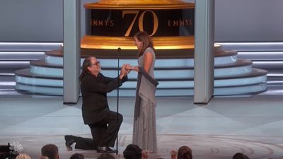 Director stuns Emmys audience by proposing to his girlfriend on stage
