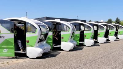 UK Autodrive completes three-year automated vehicle trials