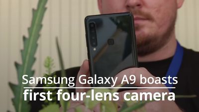 Samsung Galaxy A9 boasts world's first four lens camera