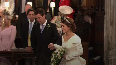 Princess Eugenie's wedding: Ceremony highlights