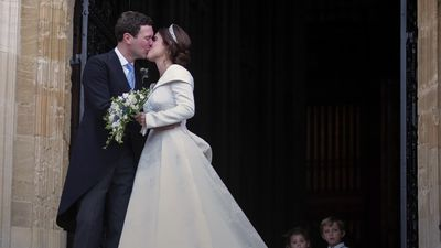 Princess Eugenie's wedding in 90 seconds