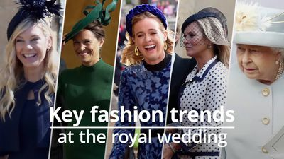 Guest fashion from Princess Eugenie's wedding