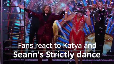 Strictly fans think Seann Walsh and Katya Jones were marked too generously