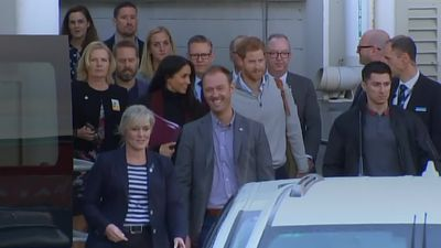Duke and Duchess of Sussex arrive in Sydney for royal tour