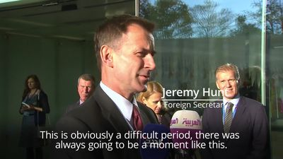 Jeremy Hunt unsure when Brexit deal will happen