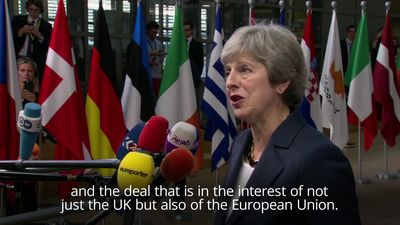 """Theresa May: Brexit deal """"achievable"""" ahead of crunch EU summit"""