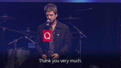 Noel Gallagher ironically thanks brother Liam for his Best Solo Artist award