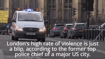 Former US police chief - London violence 'just an uptick'