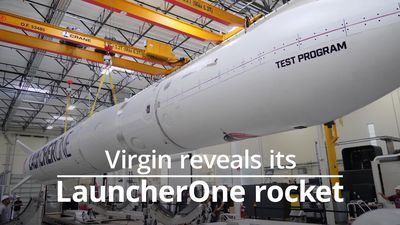 Virgin Orbit reveals LauncherOne
