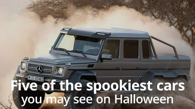 Five of the spookiest cars you may see on Halloween