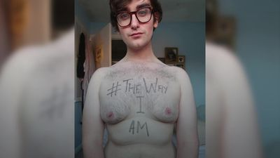 Meet the body positive blogger on a mission to help men accept their bodies