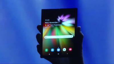 Samsung unveils foldable phone with Infinity Flex Display
