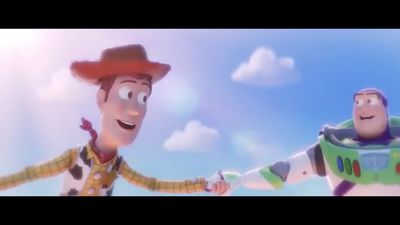 Buzz and Woody reunited in Toy Story 4 trailer