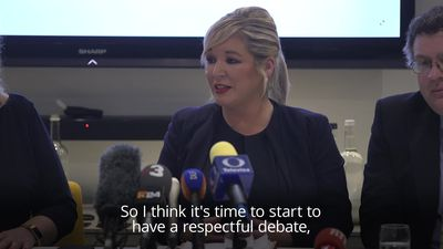 Michelle O'Neill: Time approaching for referendum on united Ireland