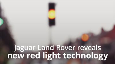 Red light woes could be banished, thanks to new technology from Jaguar Land Rover