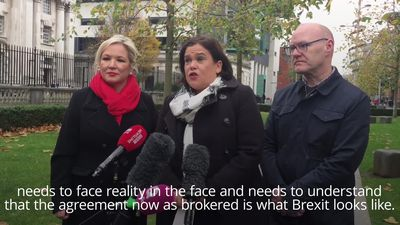 Mary Lou McDonald on Brexit: Arlene Foster should 'wake up and smell the coffee'