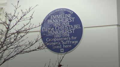 Stars turned down by blue plaques panel