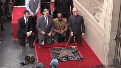 Snoop Dogg honoured with Hollywood Walk of Fame star