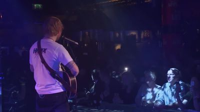 Ed Sheeran stops performance so man can propose