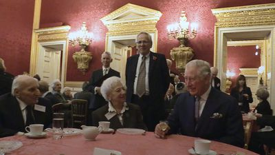 Jewish refugees sing Happy Birthday to Prince Charles