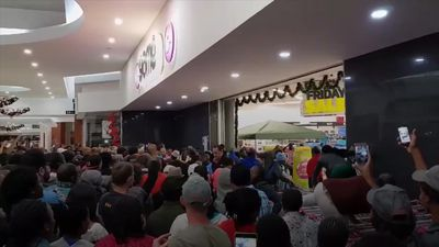 Black Friday chaos captured on camera in South Africa