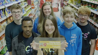 Idea to increase food bank donations adopted by supermarket giant