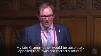 MP mocked for untucked shirt in House of Commons
