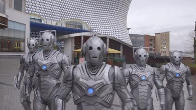 Doctor Who's Cybermen take over Birmingham