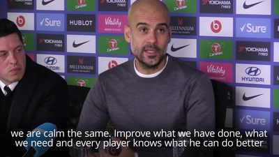 Pep Guardiola: Liverpool are better than us right now