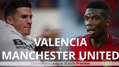 Valencia v Manchester United: Champions League match preview