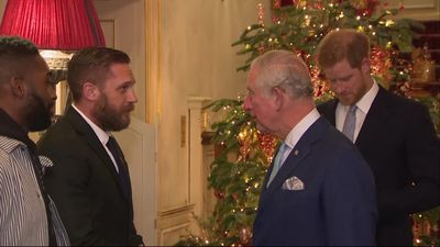 Tom Hardy, Tinie Tempah and Gareth Southgate meet royals about youth violence