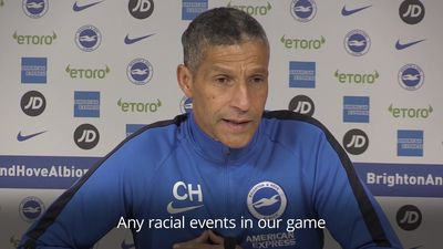 Chris Hughton calls for more black managers in top flight football
