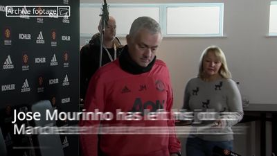 Jose Mourinho sacked as Manchester United manager