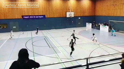 Eintracht Frankfurt youth player scores wonder goal