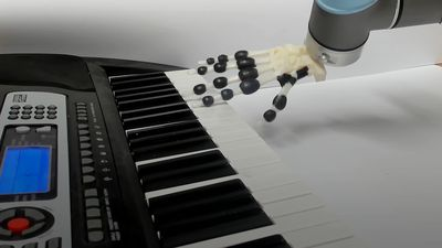 Scientists create 3D-printed hand that can play Jingle Bells