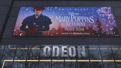 Odeon Leicester Square reopens after a multi-million pound refurbishment