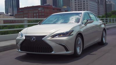 Lexus launches new ES luxury saloon