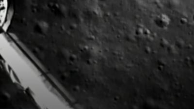 China broadcasts pictures from far side of the moon