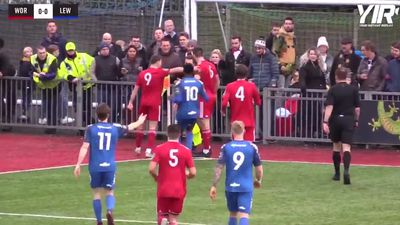 James Hammond stuns fans with wondergoal for Lewes F.C.