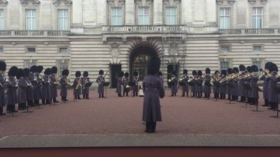 Royal guards play Bohemian Rhapsody in Buckingham Palace's grounds