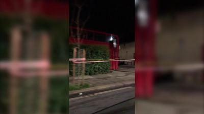 London bus crashes into home in Streatham