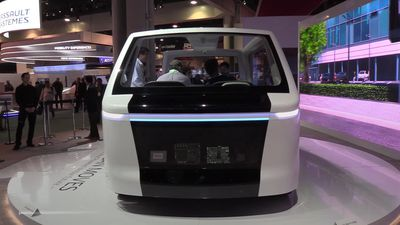 Smart vehicle technology is the new star of CES