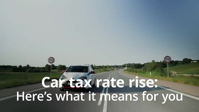 Car tax rates to rise in April: Here's what it means for you