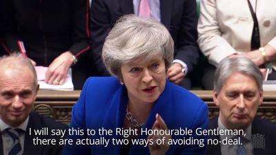 PMQs: May reiterates her respect for Brexit referendum result