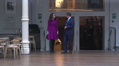 Duchess of Cambridge observes performance on Royal Opera House visit