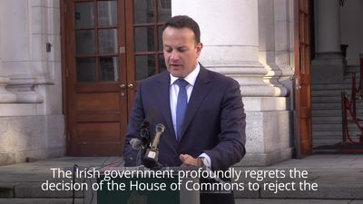 Varadkar: Onus on Westminster to find Brexit solutions