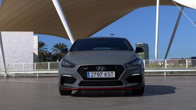 A look at the Hyundai i30 Fastback N