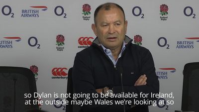 Eddie Jones: Hartley out of Six Nations opener due to injury