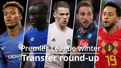 Premier League transfer round-up: Higuain looks set for Premier League move